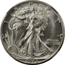 US Walking Liberty Half Dollar