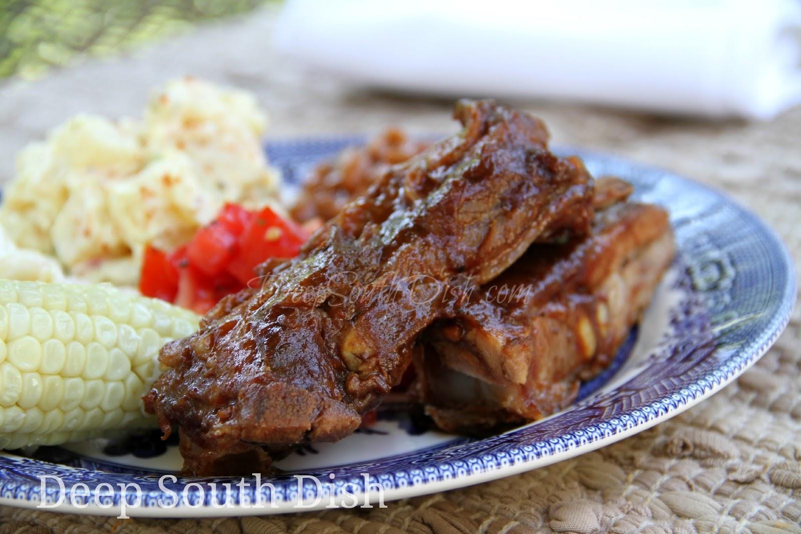 Southern Bbq Pork Spare Ribs Recipe
