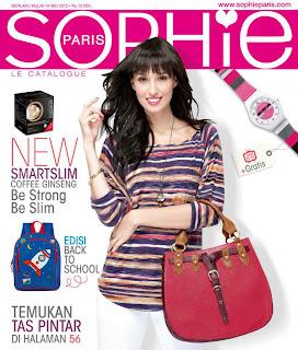 Katalog Sophie Martin Paris terbaru edisi Mei - Juni 2012 sudah terbit