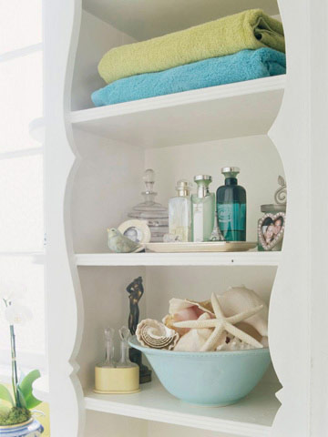 Cottage flavor decorating with seashells - Accesorios para decoracion de interiores ...
