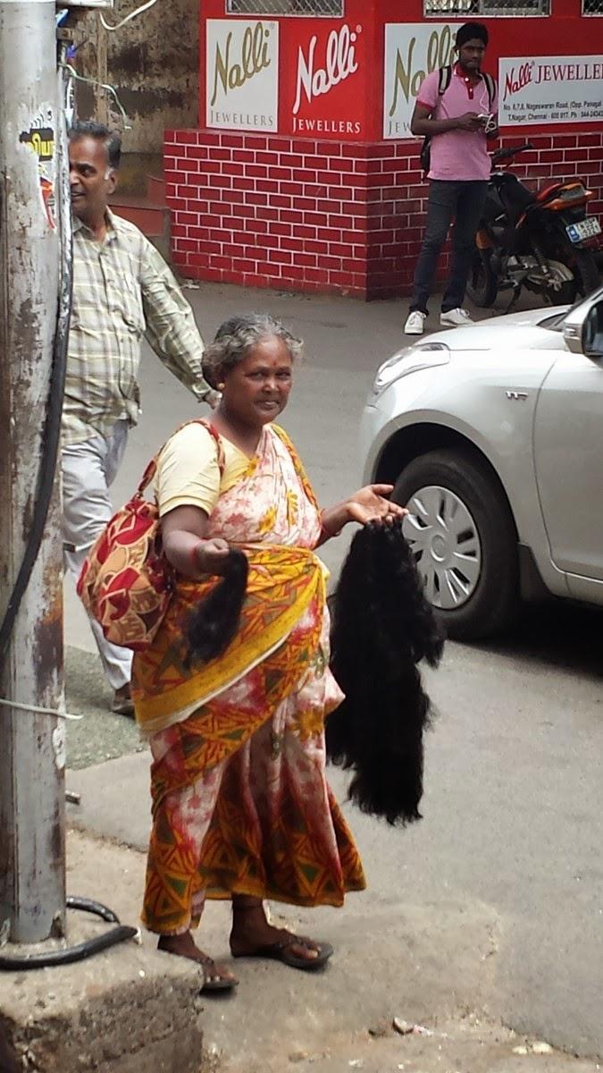 Ja, zakupy i ostatnie zdjęcia z Chennai