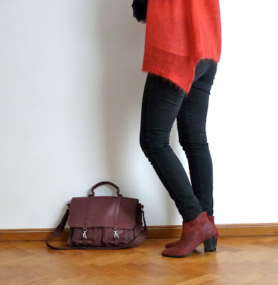 Look Street Style Ootd Fashion Blog Mode Mode H&M Zara Vanessa Bruno Pascale Monvoisin Lou Even