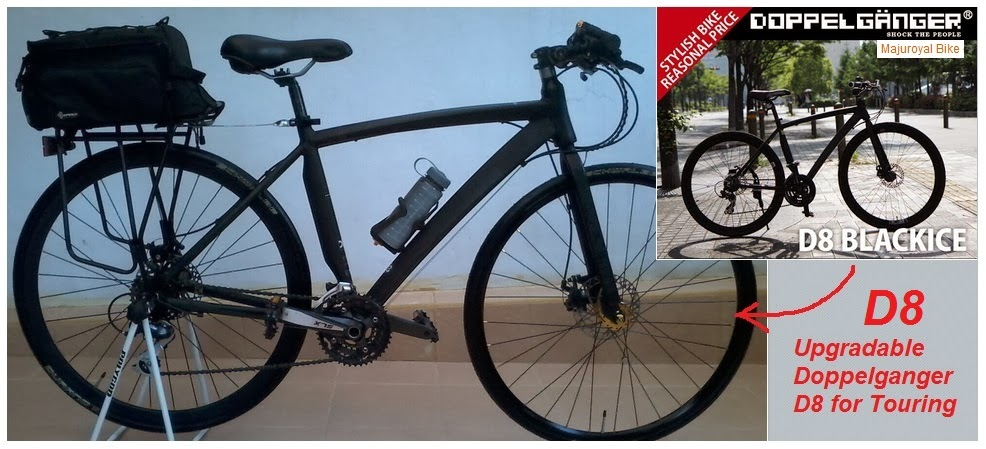 doppelganger d8 upgrade touring bike