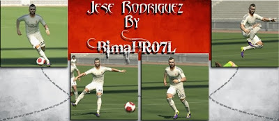 PES 2014 Jese Rodriguez Face by BimaHR07L
