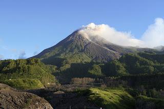 Monte Merapi – Indonésia