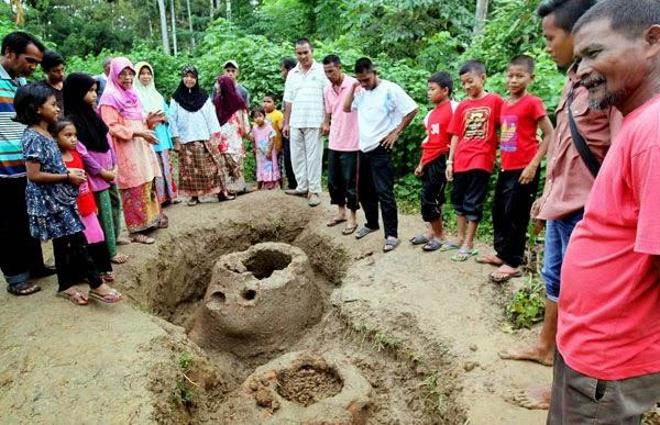 Artifak Misteri di Kampung Chichar Mukim Jeneri