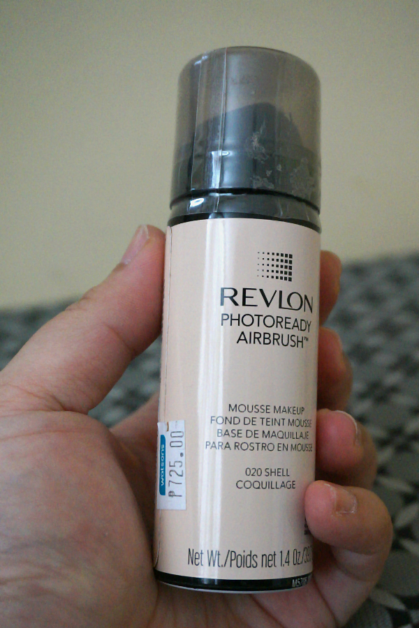 revlon photoready airbrush mousse makeup in shell 020 review swatches photos jello beans. Black Bedroom Furniture Sets. Home Design Ideas