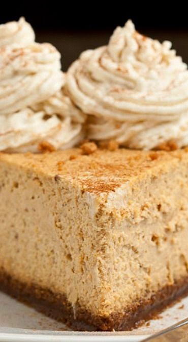 New York Style Pumpkin Cheesecake Recipe