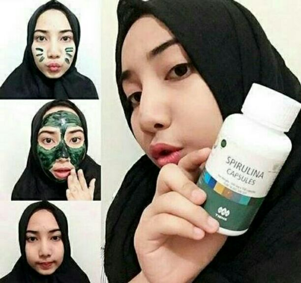 Info Masker Wajah Spirulina