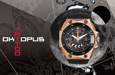 Linde Werdelin Oktopus Moon Tattoo