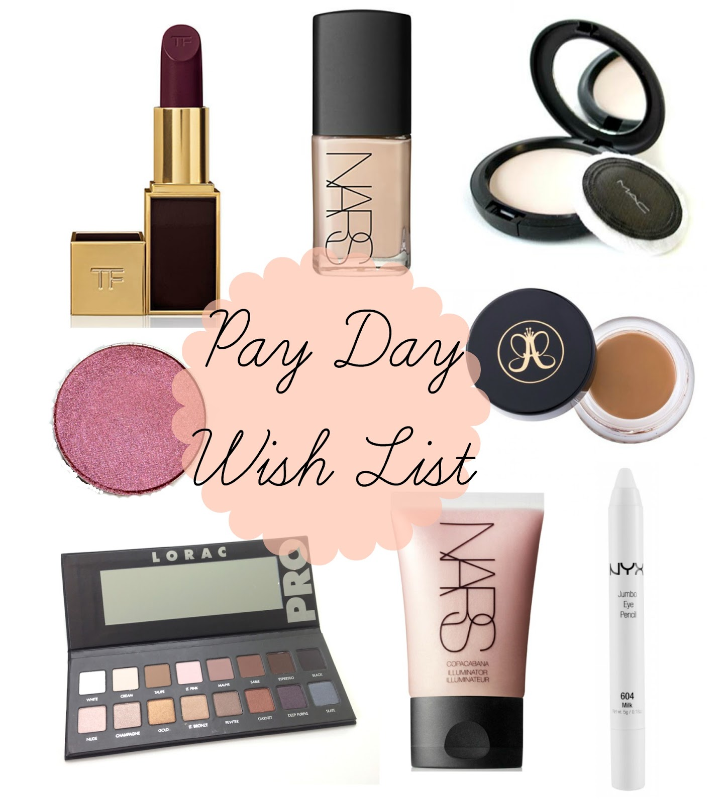 Pay Day Wish List, Beauty Wish List