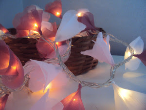 Luminárias Luzes de Fadas com 100 lâmpadas