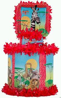 Piñatas de Madagascar para Fiestas Infantiles
