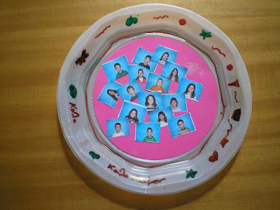 Διακοσμητικό πιάτο,με φωτογραφίες των