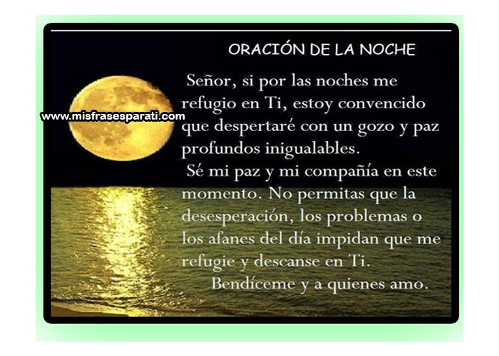 Oraciones, Imágenes de Oración, Oración de la noche