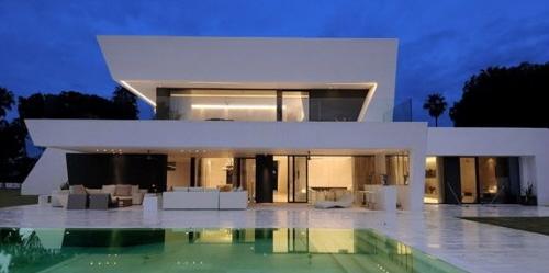 B r arquitetura grandes conceitos nas modernas casas for Casa moderna kw