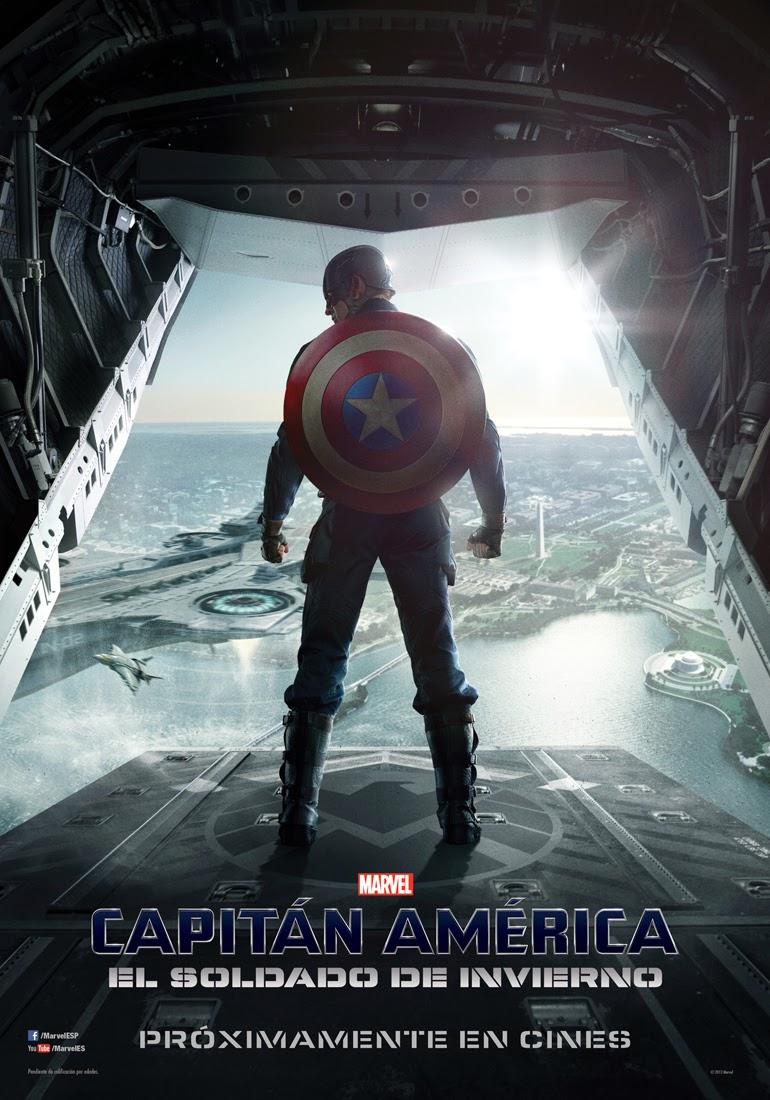 """Poster """"Capitan America: El soldado de Invierno"""""""