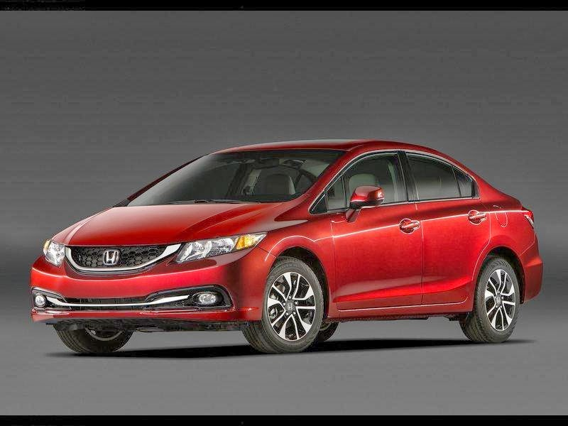 news cars new honda civic sedan model year 2013