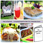 Party On The Porch: Inspiring Banquet for Father's Day, Summertime & more