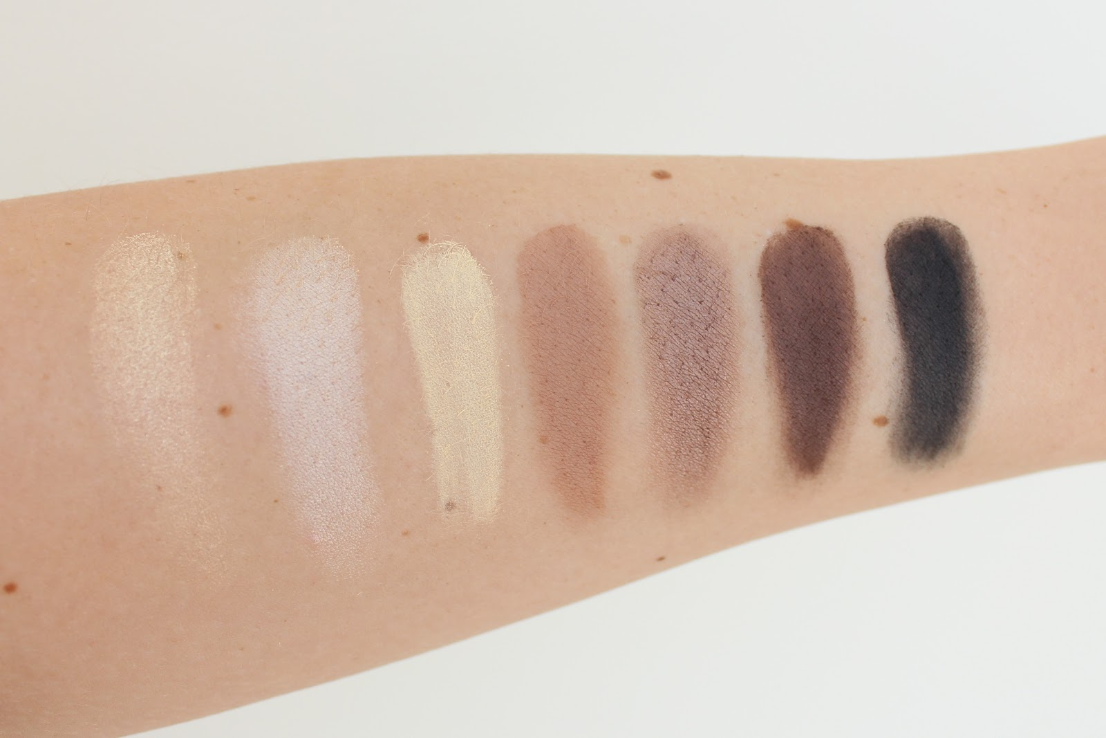 Inglot Neutral Smokey Palette Review and Swatches