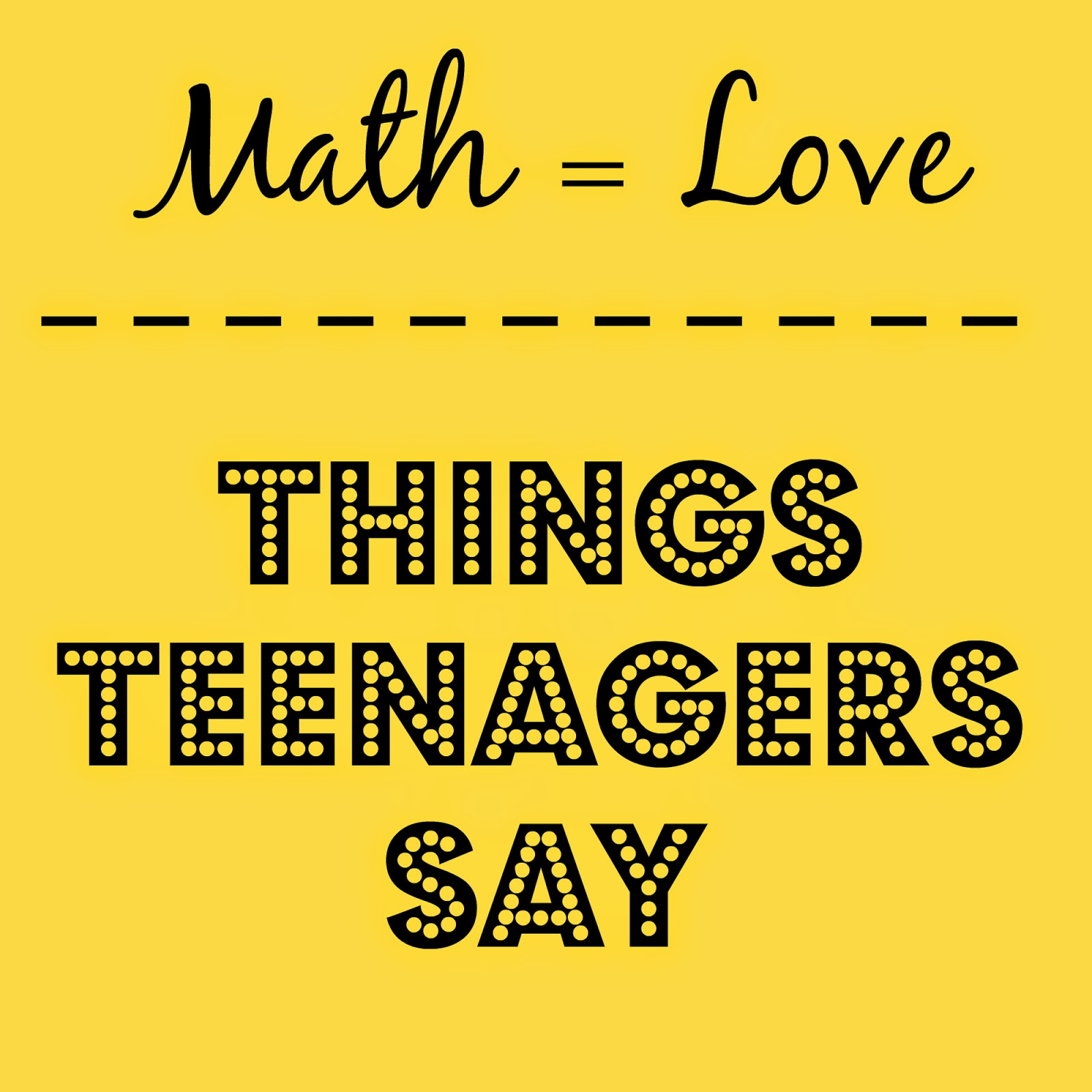 math and things Make math class more engaging by running these fun math activities available  as a downloadable list, these exercises support skill.