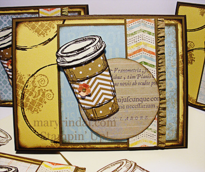 stampin up, perfect blend, card