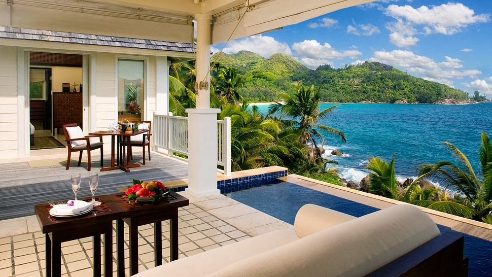 Passion for luxury banyan tree seychelles for Villa de jardin seychelles