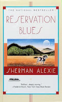 bookcover of RESERVATION BLUES by Sherman Alexie