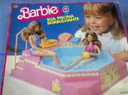 brinquedos anos 90 piscina barbie