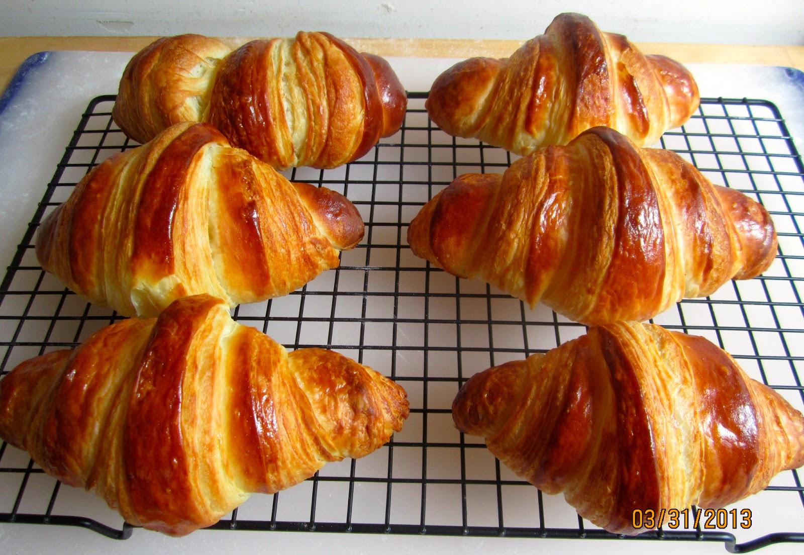 Brot & Bread: CROISSANTS - IN BUTTERY HEAVEN