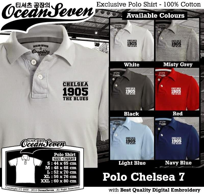Kaos Polo Chelsea 7