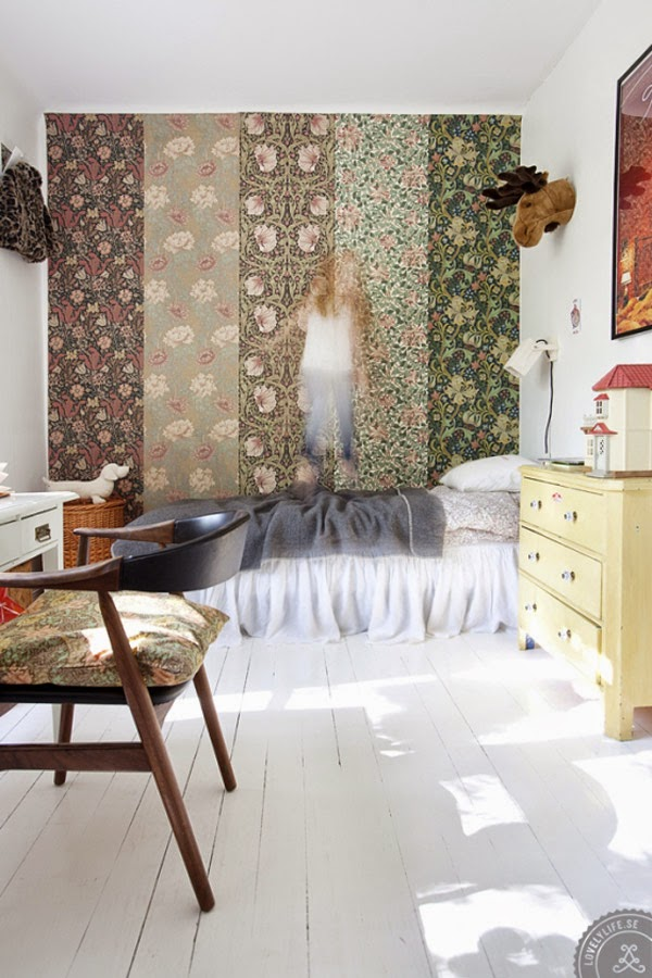 Annacate's Home, William Morris Wallpaper