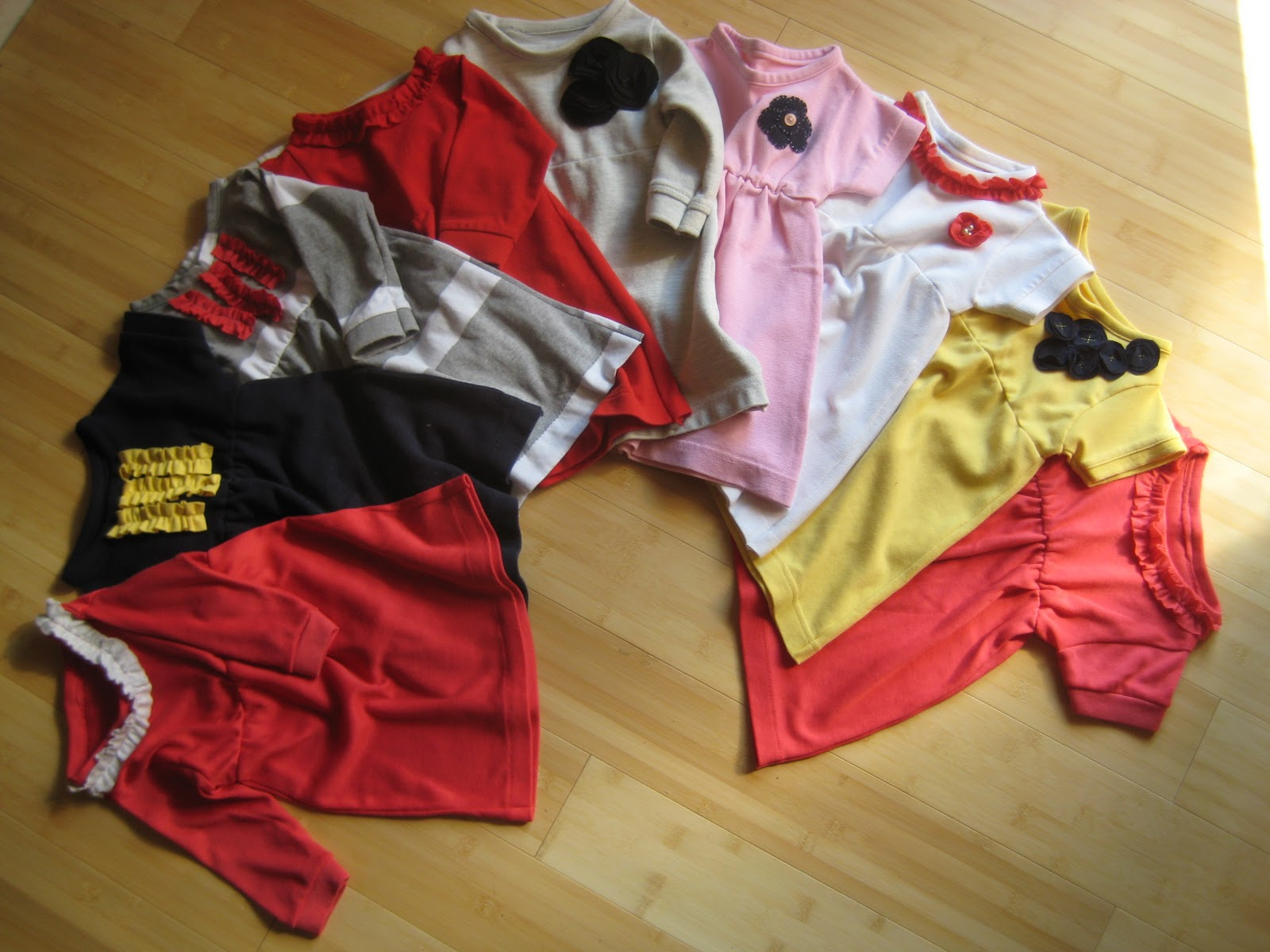 Coffee & Bananas refashion men s polo shirt to baby dress