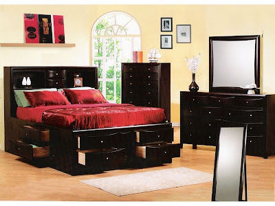 Maximize+Your+Interior+Decorating+Space+With+These+Space-Saving+Bed+Designs+Coaster-Company-Cappuccino-Bookcase-Bed-Captains-Bed_2_800x600