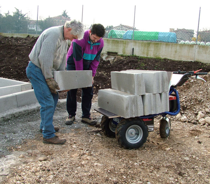 Motorized Wheel Barrow Zallys Made In Italy Quality