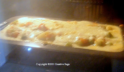 easy veg.lasagna recipe