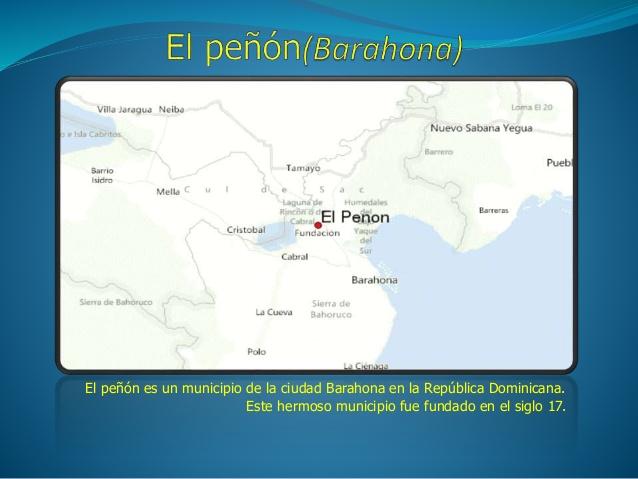 EL PEÑON-BARAHONA