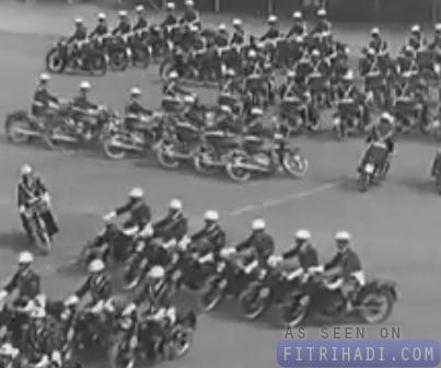 kawad formasi motosikal