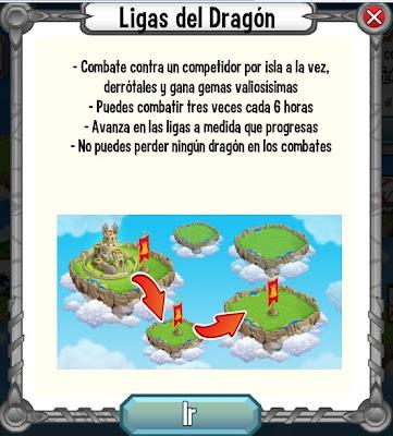 como jugar en el mundo de combates de dragon city