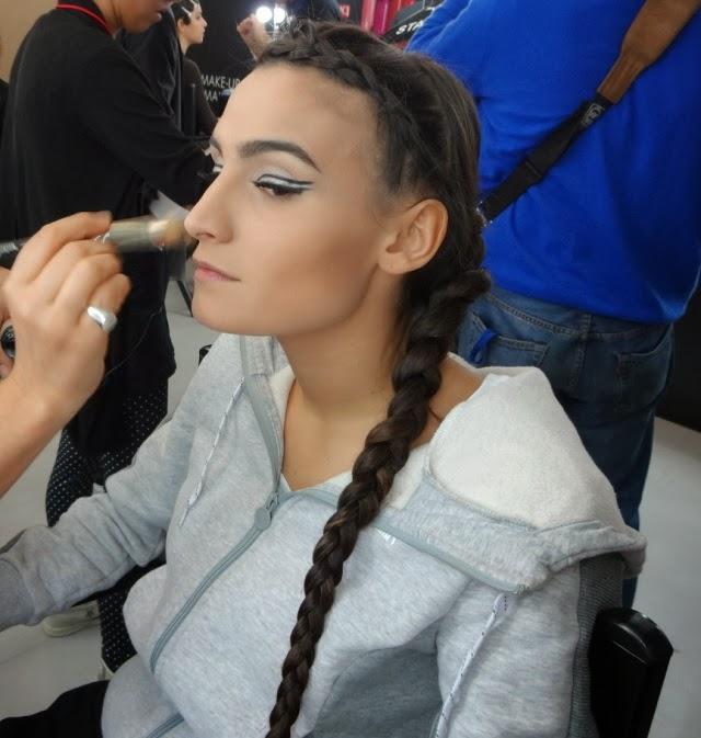 X Factor 2013 Italia terza puntata backstage PUPA make up Valentina