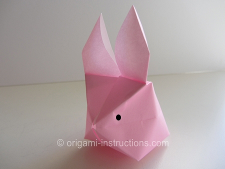 origamiinstructionscom origami inflatable rabbit