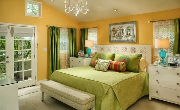 tips penggunaan warna dalam kamar tidur
