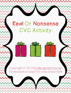 http://www.teacherspayteachers.com/Product/Real-or-Nonsense-Sort-Christmas-themed-447371