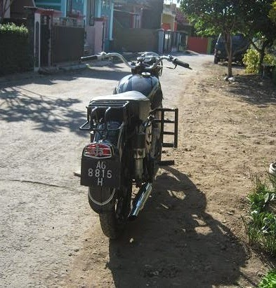 AJS 350cc 1956 milik Kang Memet