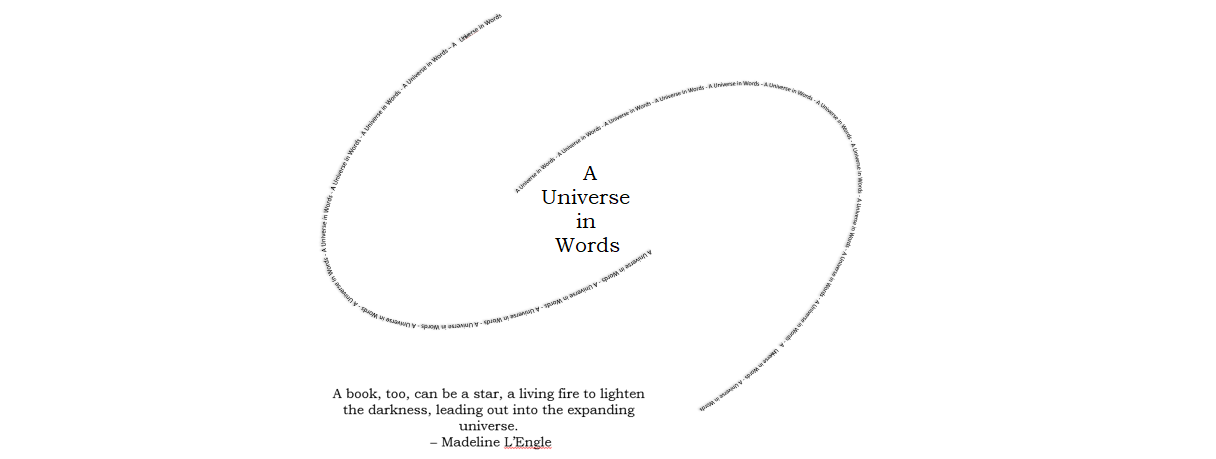A Universe in Words - Juli Witte
