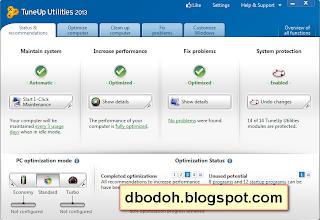 Free Download TuneUp Utilities 13.0.3000.138 Full Version + Serial Number Terbaru