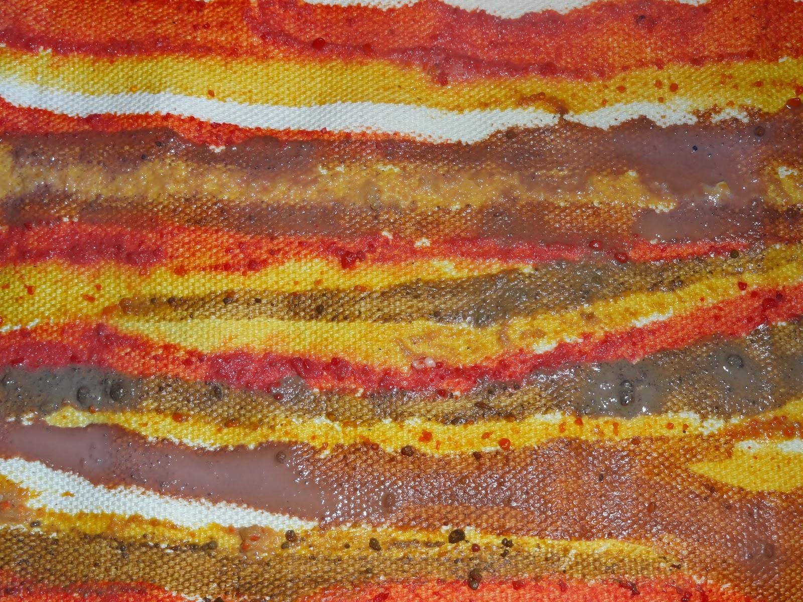 Paola gamboa residencia art stica los colores de la - Colores tierra para salon ...