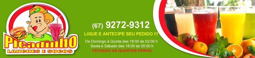 Picadinho lanches Campo Grande MS