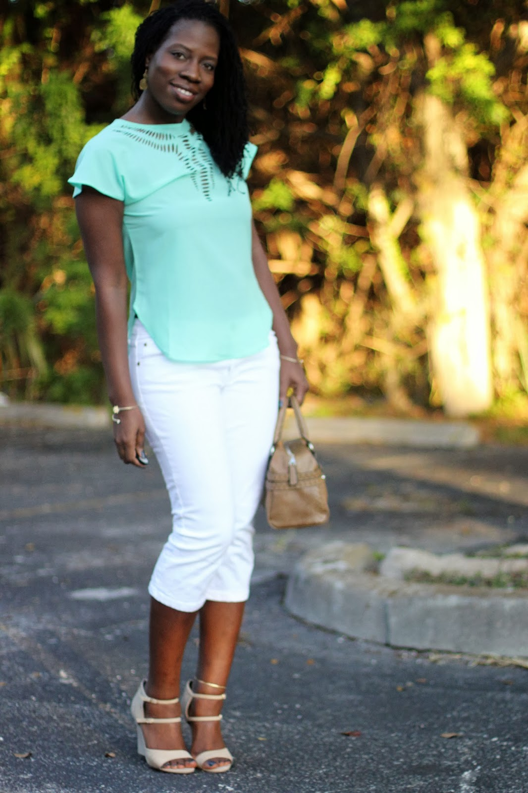 Kreyola S Journeys What I Wore Mint Green Tan A Lovely Color