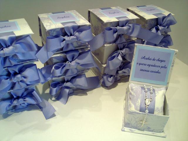 Lilás caixa para Maternidade